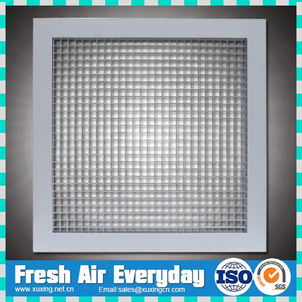 Hvac Return Air Grill : Hvac aluminum ceiling return eggcrate air grille buy