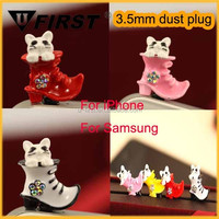 Cheap custom cell phone dust plug charm china supplier, Hot selling earphone Anti Dust Plug