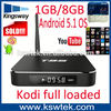 Best selling home show products kodi 16.0 dual wifi 1/8gb t95 android tv box 3gb ram quad core mx2 android tv bo