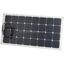 High Efficiency Solar Cell Cheap 100w Semi Flexible Solar Panel