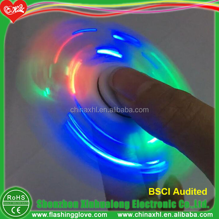 Clear LED Spinner Toys Newest style