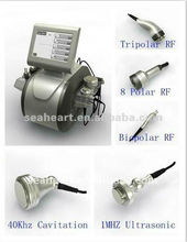 2013 professional ultrasonic cavitation sliming machine with the lowest price in China with good effect body sliming machine