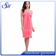 Hot Sale High Quality Sexy Young Girls Summer Cover Up Beach Dress