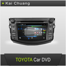 7inch Touch Screen Dashboard TOYOTA RAV4 2006-2012Car DVD GPS Player with Bluetooth Radio USB AUX-In SWC