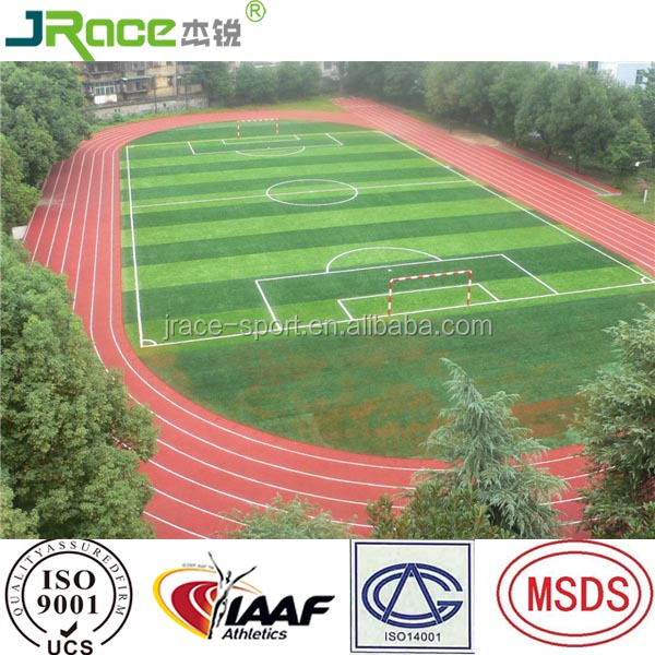 Chinese rubber athletic flooring for outdoor arena