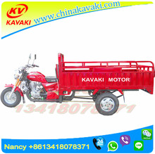 China kavaki products wholesale 200CC 1.2M *2.0M Petrol motorcycle 3 wheel tricycle two front wheels