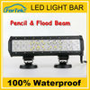 Competitive Price as high quality!Two Rows 12 inch Spot/flood/combo off road led atv light FK-LED 72W 3*24C