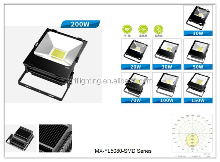 power outdoor led flood light