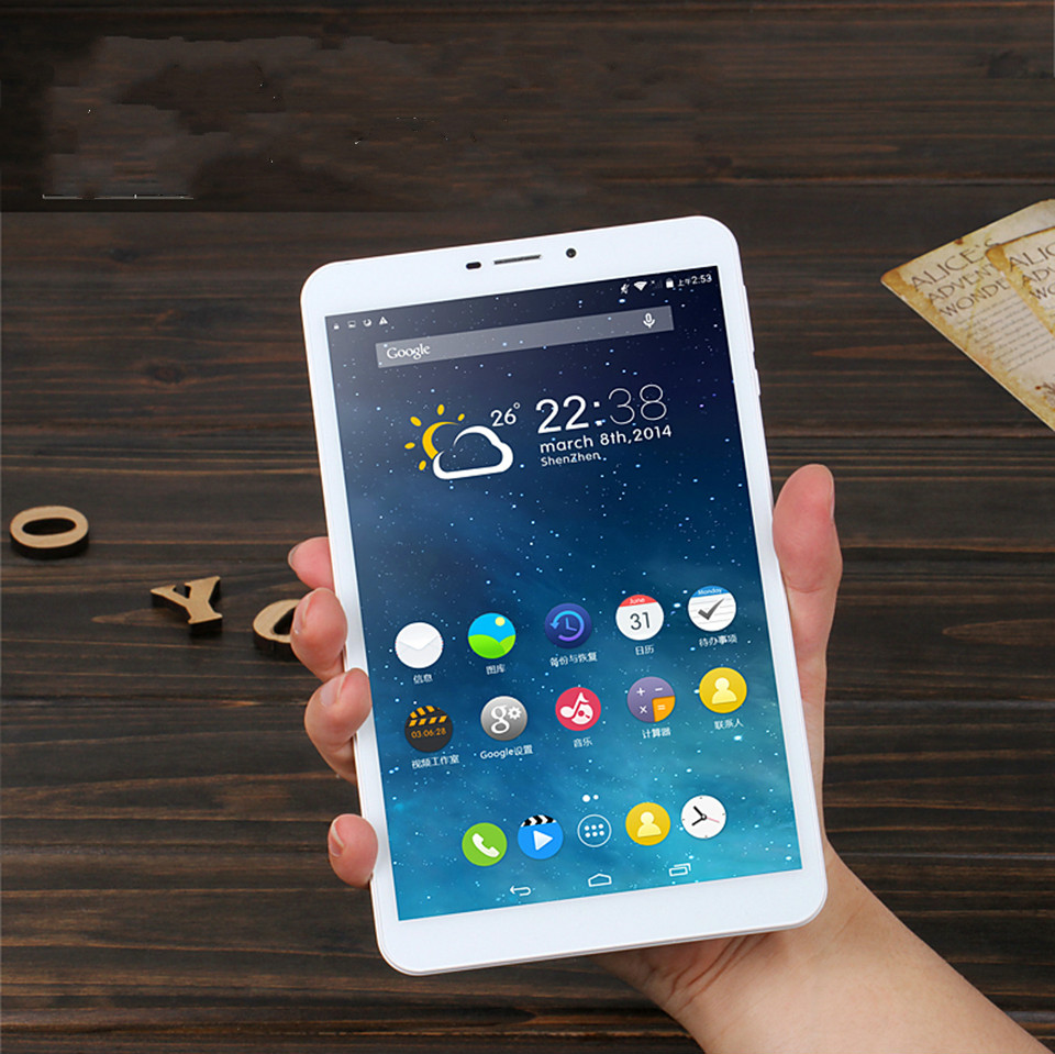 Original Phone Call Tablets 8 Inch Quad Core Android 4.2 Wifi Camera Bluetooth 3G Tablet