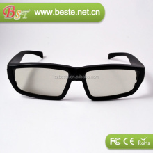 plastic polarized 3d glass for 3d movies,3d personal cinema glasses