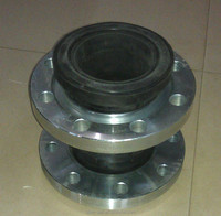 DN150 SS400 flange JIS 5 /10K neoprene rubber expansion joint