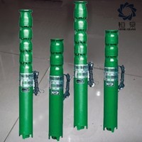 SJ series vertical multistage deep well pump parts
