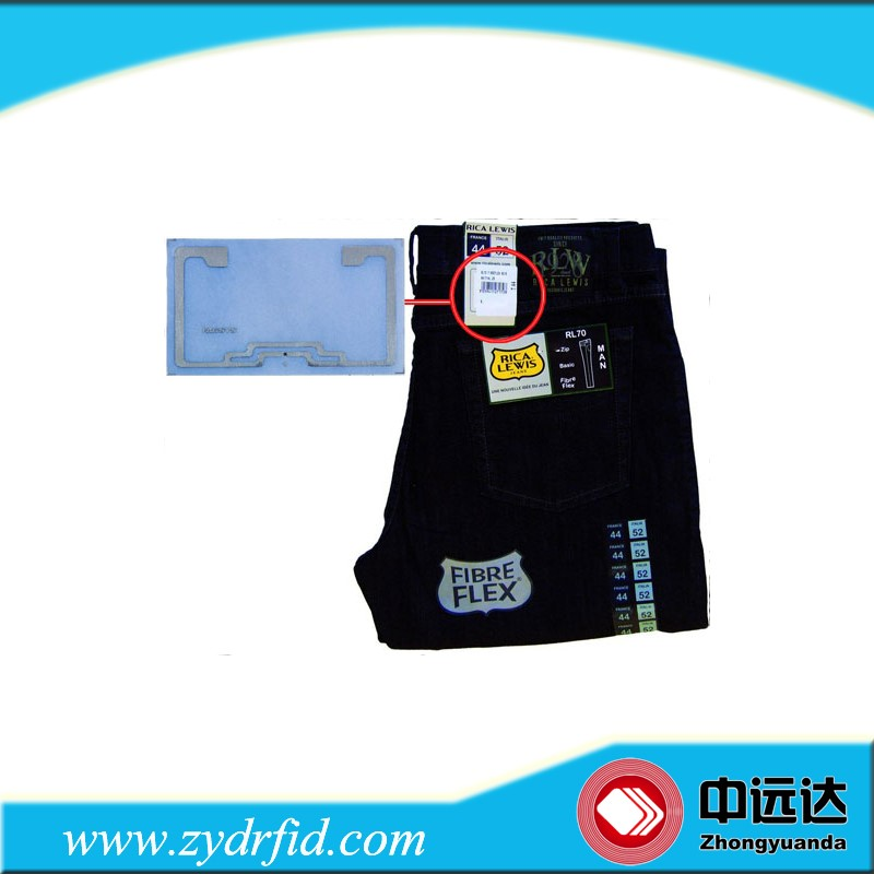 Anti counterfeit rfid clothing labels and hang tags custom for Custom t shirts with custom tags
