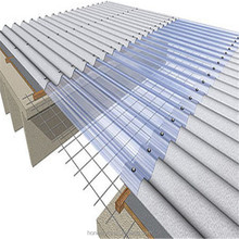 Easy installation 100% virgin bayer material canopy corrugated plastic polycarbonate roofing sheet awning for sale