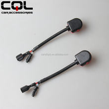 Hid xenon bulb D2S adapter to KET cable wires,h7 hid xenon bulb holder adapter,bulbs adapter h4
