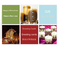 custom New Design a variety of holiday greeting card / Christmas cards