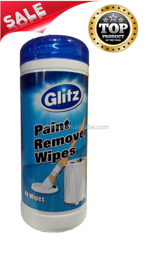 Hot Selling Paint Remover Wet Wipes