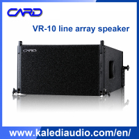professional 10 inch line array speaker box,professional audio equipment used