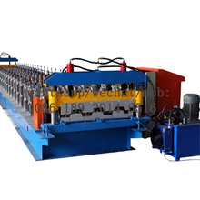 high quality galvanized steel roof floor tile deck panel roll forming making machine