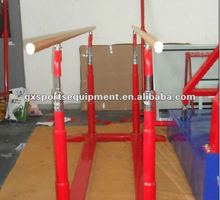 Durable gymnastic parallel bars equipment for sale