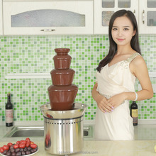 Stainless Steel 4 tiers Party Chocolate Fountain