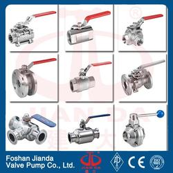 cw617n material female threaded connection long stem ball valve