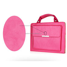 Pink Handbag Type Synthetic Leather Case Protective Cover Skin for iPad Air 5