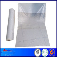 PE Rolled Clear Plastic Car Seat Covers