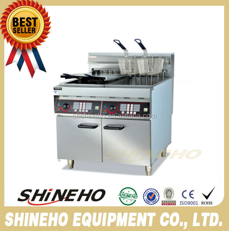 Commercial Chips India Samosa Deep Fryer For Snack <strong>Food</strong>