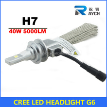 2015 NEW 6th cooper wire 10000lms car H7 H4 led headlight bulbs