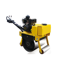 Jining road machine 550kgs small three wheel static road roller