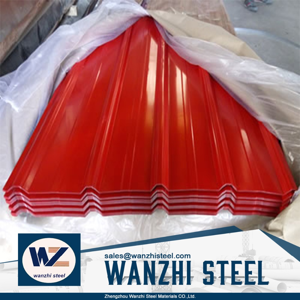 Prepainted corrugated roofing steel sheet for factory price