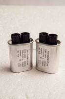 2100VAC Oval Aluminum Capacitor for Microwave Oven