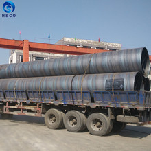 SSAW Oil gas pipe line 12 inch API 5L L390 carbon steel pipe