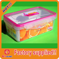 Plastic Transparent Fresh Preservation food storage container