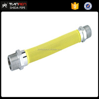 Tian Ren yellow large diameter of corrugated bellow hose gas hose
