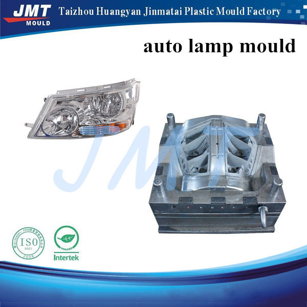 Injection mold plastic light of auto