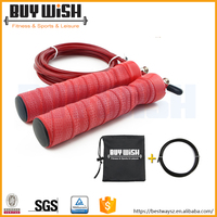 Speed cable skipping jump rope