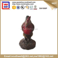 resin big cock, Garden rooster Figurine