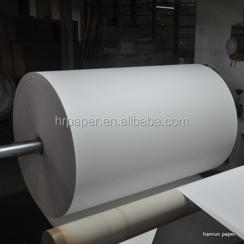 Fast Dry 45 , 58, 60 , 70, 80, 90 ,100gsm sublimation paper roll Polyester Transfer / mini jumbo roll for Textile , Clothing