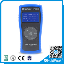 Prominent portable laser pm10 sensor pm2.5 particle counter air dust detector