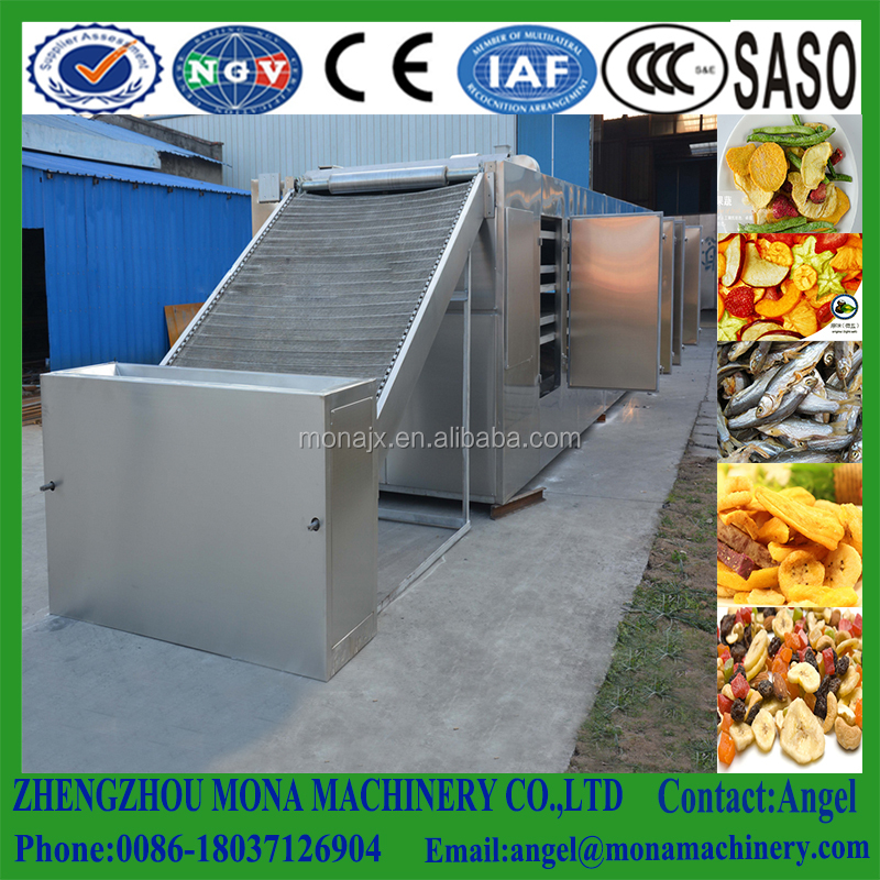 fruit drying machine/apple chips production line /mango dryer oven machine