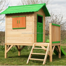 Competitive Price Custom made cheap playhouses for kids outdoor