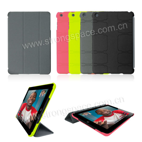 Rubberized Laptop PC Hard Cover/Case for iPad mini