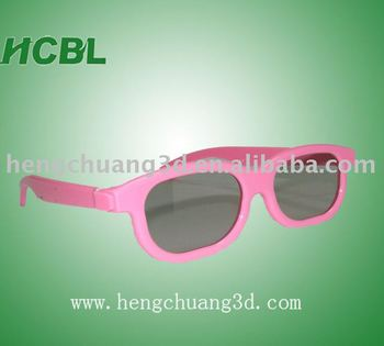beautiful kids 3d glasses with good price from shenzhen factory