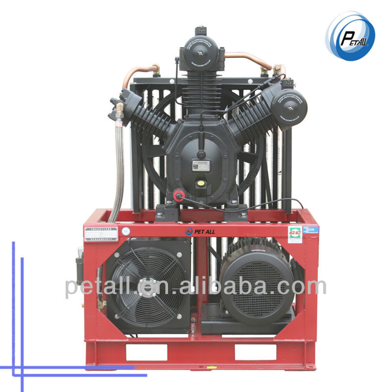 40 bar high pressure air compressor for PET blow moulding machine