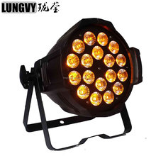 china cheap DJ Par Cans RGBWA UV 6IN1 18*18W LED Par Light Indoor Usage Led Par cans for stage disco dj party club