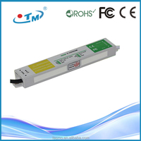 47-63hz power supply IP67 waterproof constant voltage led driver 12v dimmable with CE,FCC,Rohs free shipping