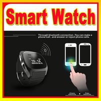 New Arrival Watch Phone LeaTher Wristband Bluetooth Watches For Phones