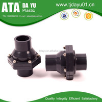 swing check valve ANSI BP thread or socket ending plastic valves